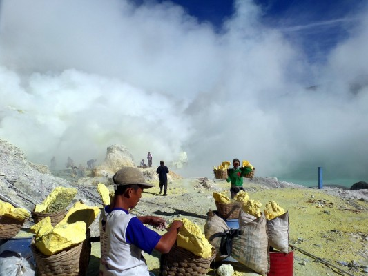 Excursion en 4x4 au volcan Ijen