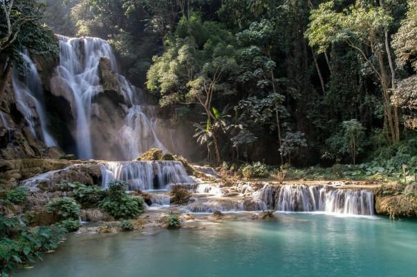 Les cascades de Kuang Si au Laos