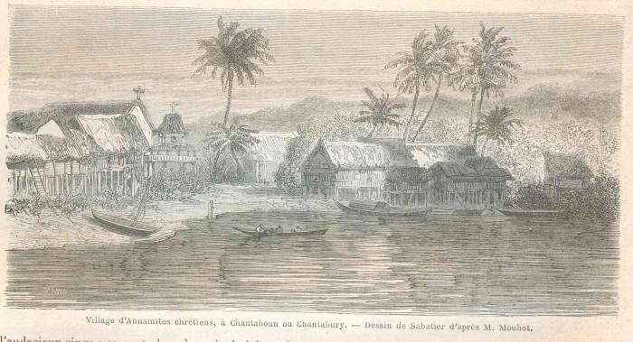 Le fort de Chanthaburi