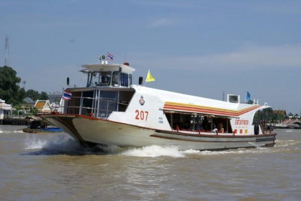 5 - Prendre un bateau sur le Chao Phraya