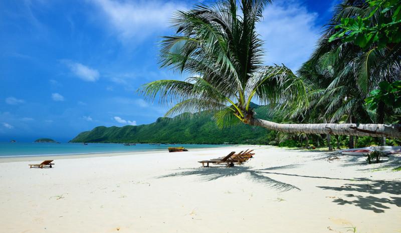 Les plages sauvages et préservées de l'île de Con Dao au Vietnam Sud