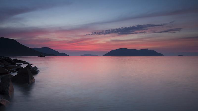 Con Dao sunrise