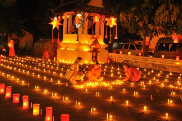 Boun Ok Phansa, la fin du carême Bouddhiste