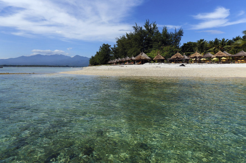 Les plages de rêve des îles Gili, au large de Lombok en Indonésie