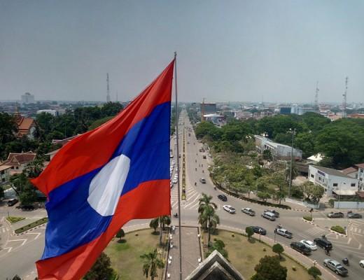 Vientiane – Les bords du Mékong