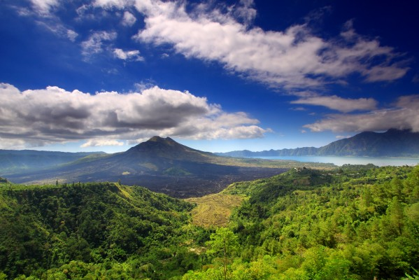 Le Mont Batur, Kintamani, Bali