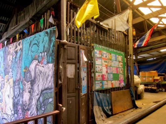 Acheter une toile à Chatuchak
