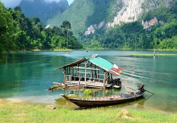 Le parc national de Khao Sok en Thaïlande