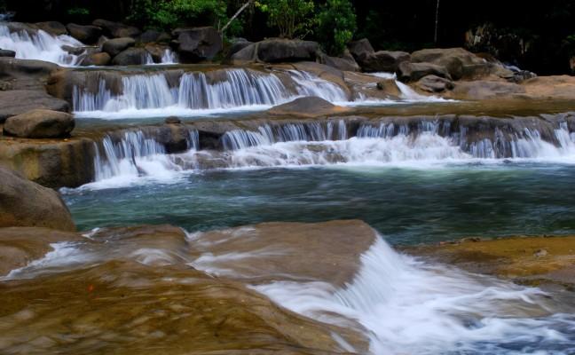Les cascades de Yang Bay au Vietnam