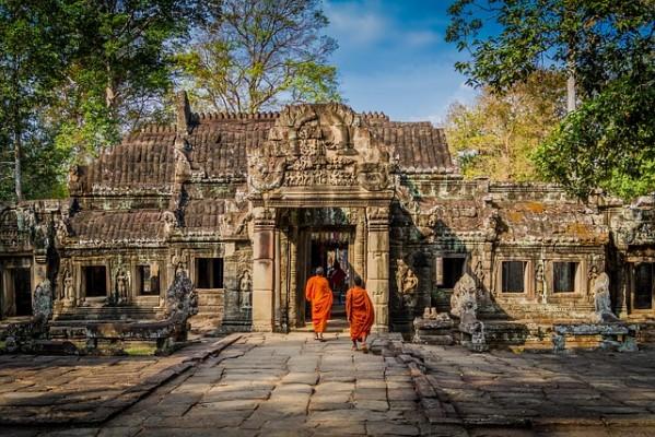 6. Angkor, Cambodge