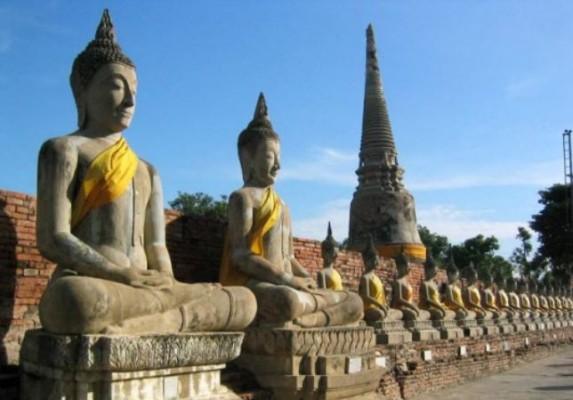 Le Wat Yai Chai Monkol à Ayutthaya