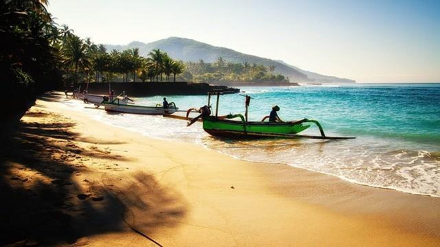 1. Bali, Indonésie