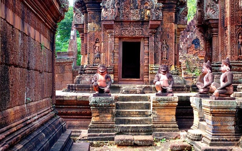 Banteay Srei, le temple féminin