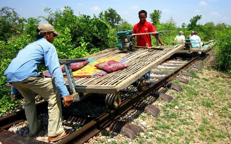 Battambang, pour leur côté sauvage