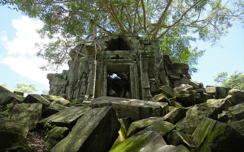 Beng Mealea, le temple des aventuriers