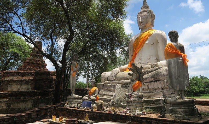 Se déplacer dans Ayutthaya