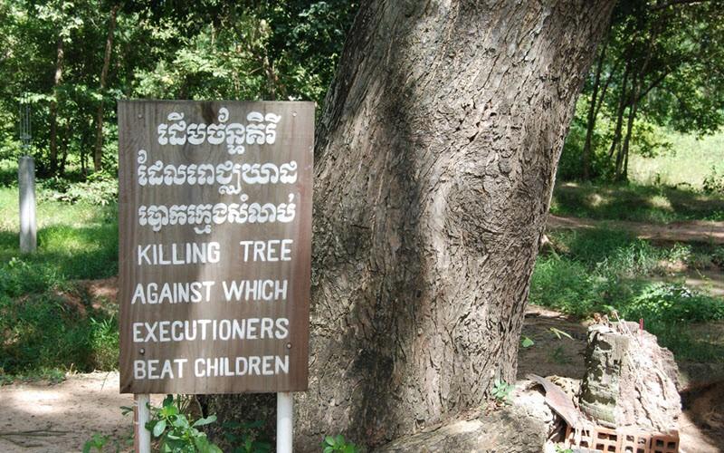 Les Champs de la mort, Cambodge