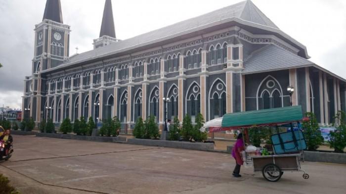 La cathédrale de Chanthaburi