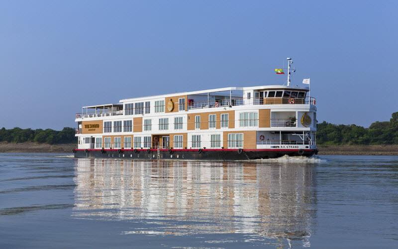 7. Une Croisière à bord du Strand sur l'Irrawaddy