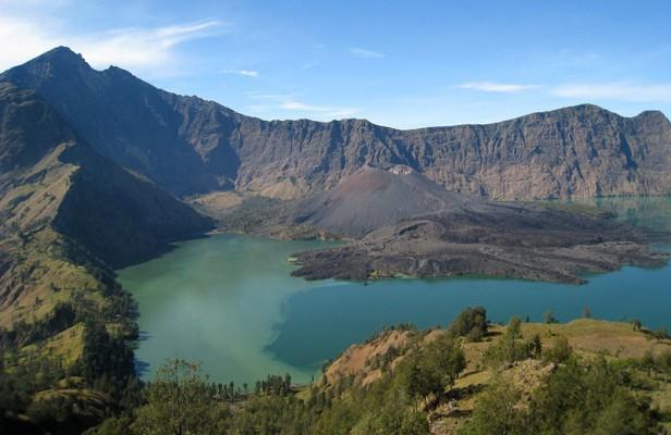 Le parc Gunung Rinjani en Indonésie