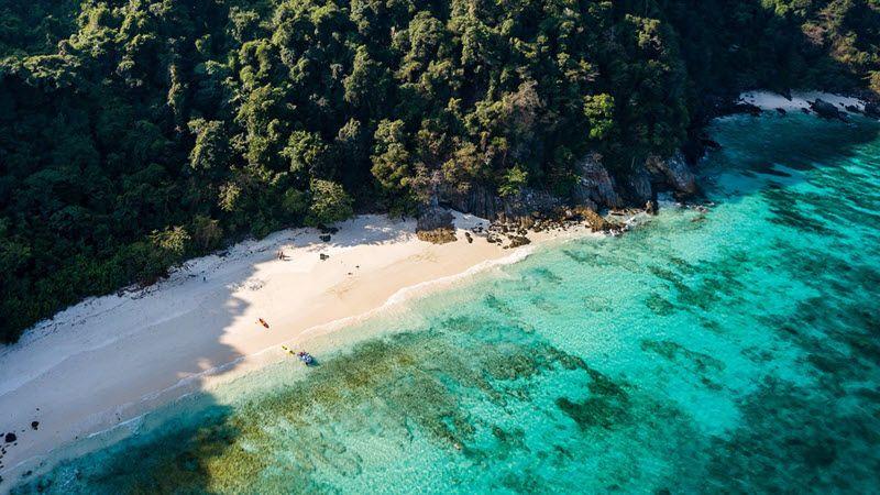Les plages des îles Mergui au sud de la Birmanie