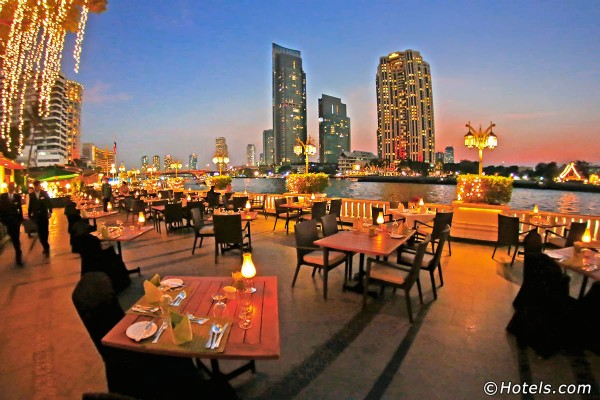 Le Mandarin Oriental à Bangkok