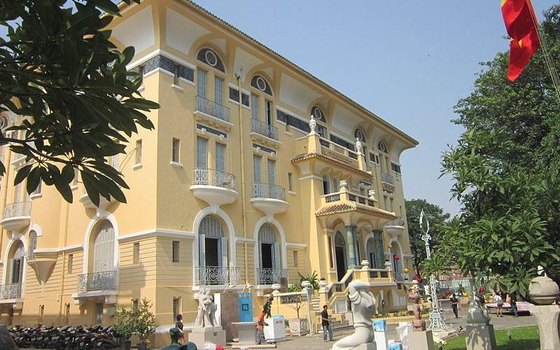 Le Musée des Beaux-Arts de Hô-Chi-Minh-Ville, Vietnam