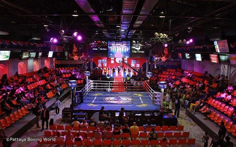 Voir un combat de boxe Thai à Pattaya au Boxing World
