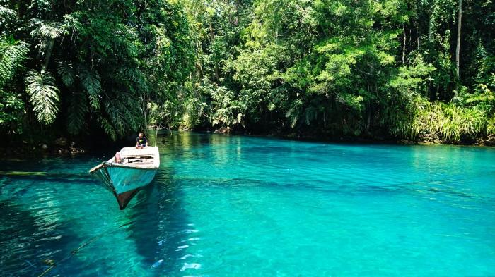 Faire du rafting en Kalimantan
