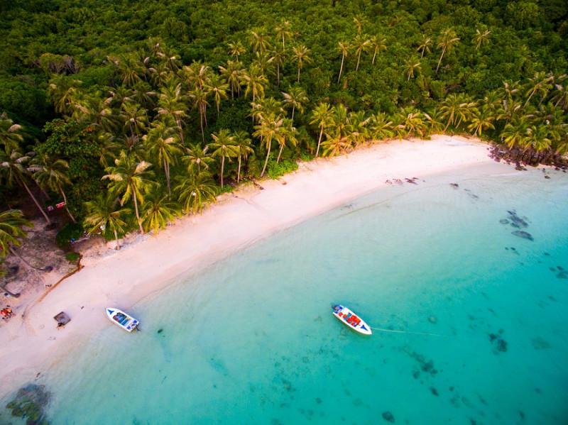 Les plages de l'île paradisiaque de Phu Quoc au Vietnam Sud