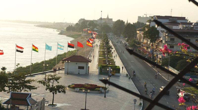 S'imprégner de Phnom Penh