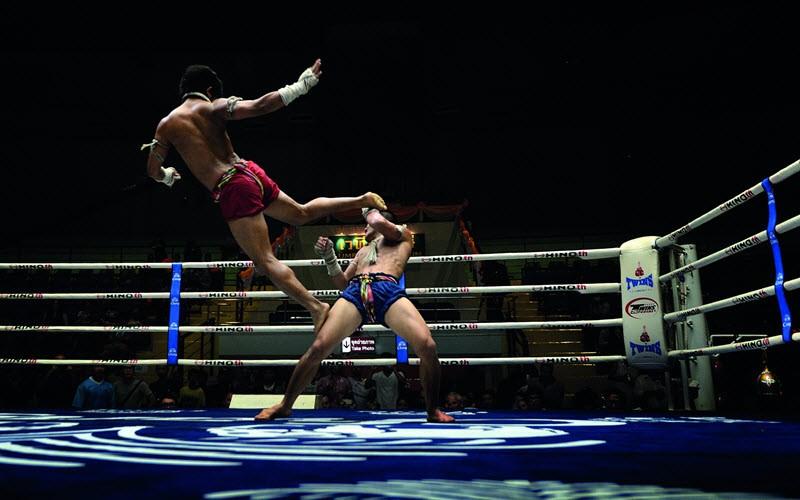 Voir un combat de boxe Thai à Bangkok au Lumpini Stadium