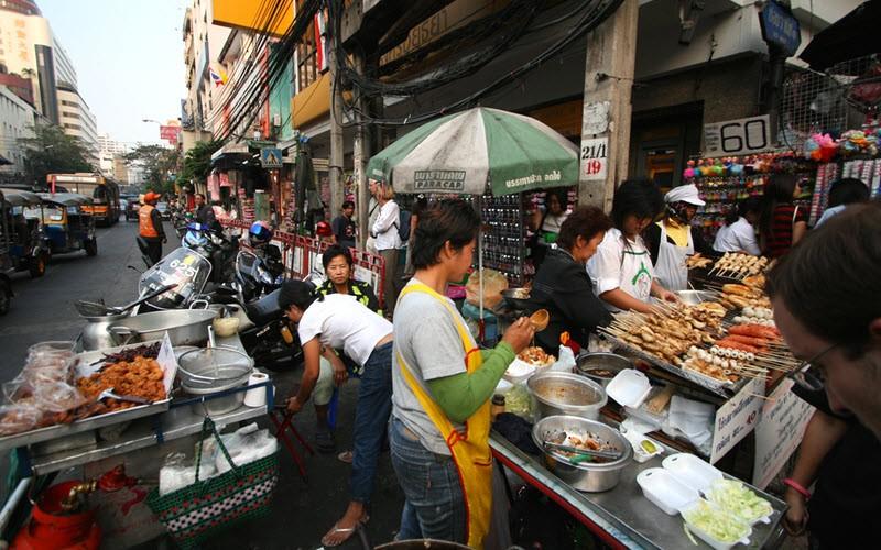 Yaowarat, le quartier chinois et sa street food incroyable