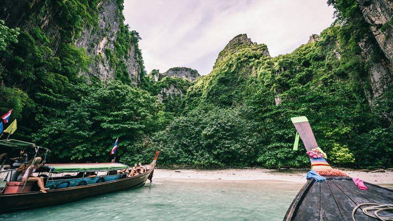 La fin du voyage sur les plages paradisiaques de Thaïlande