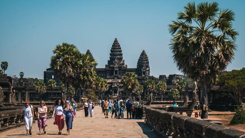 Le Cambodge et ses fameux temples d'Angkor