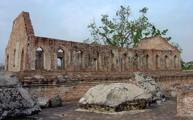 Les temples d'Ayutthaya, Thaïlande
