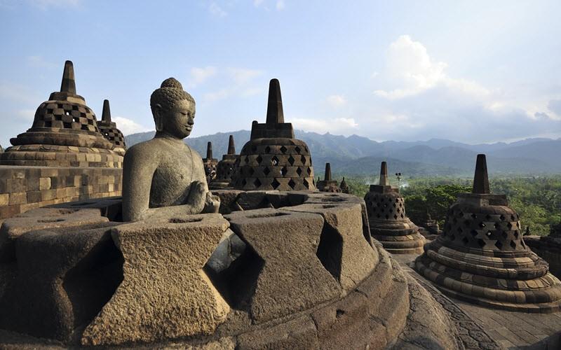 Au coeur du bouddhisme à Java