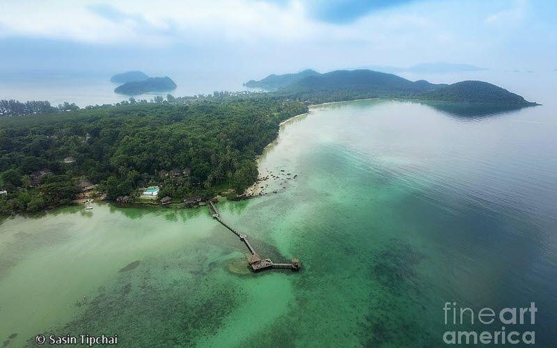L'île de Koh Mak, une « île verte » en Thaïlande