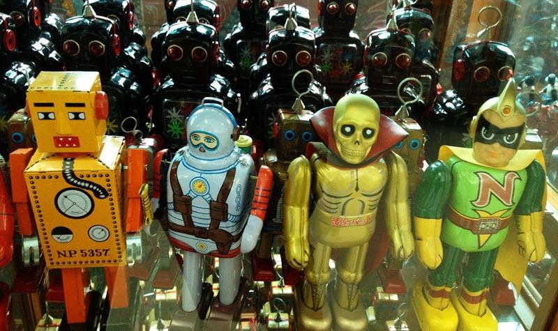 Jouets et robots au musée du million de jouets, visite originale à faire à Ayutthaya