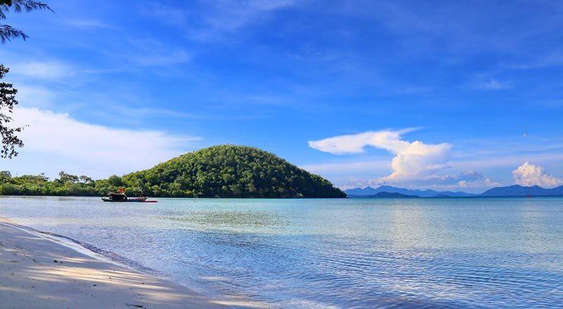 eau turquoise, baie de ao pra à koh mak
